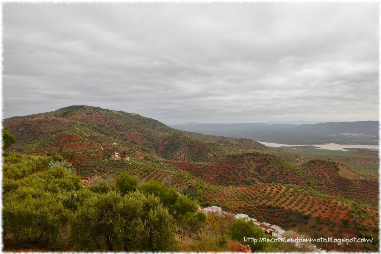 Vistas desde Ermita V. Castillo, Vilches