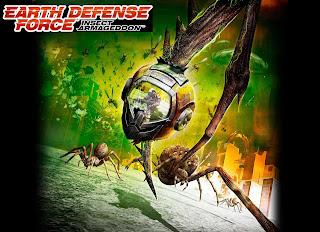 Earth Defense Force Insect Armageddon cover art