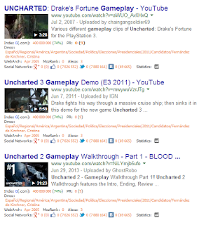 uncharted gameplay google videos