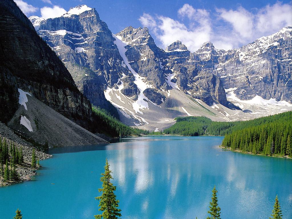Warna asli air laut dan warna danau pegunungan