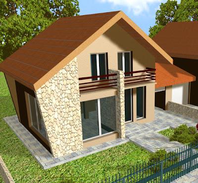Proiecte case mici - casa mica Cernica 2