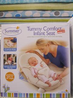 Summer Tummy Comfort Infant Seat