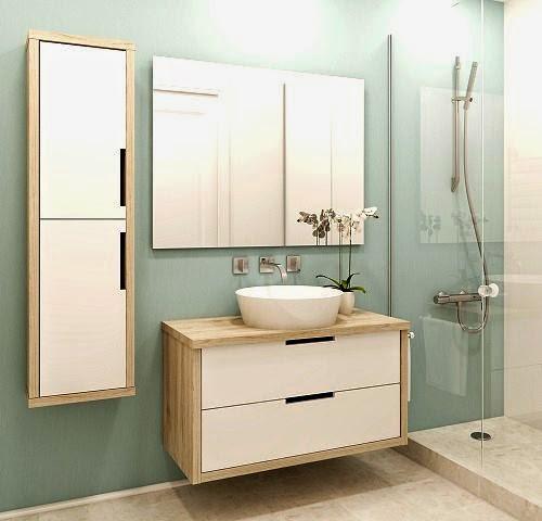 Decoracion De Baños Pequenos Modernos:Baños modernos en espacios pequeños – ArQuitexs