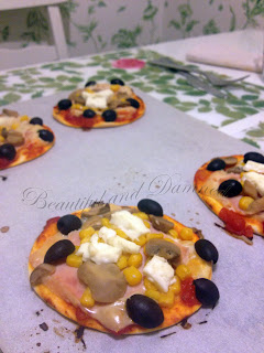 Mini-pizzas caseras