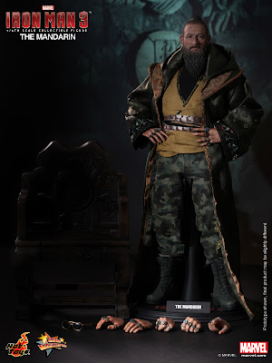 "Hot Toys 1/6 Scale Iron Man 3 The Mandarin 12"" Figure"