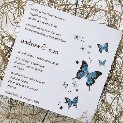 Butterfly Wedding Decor