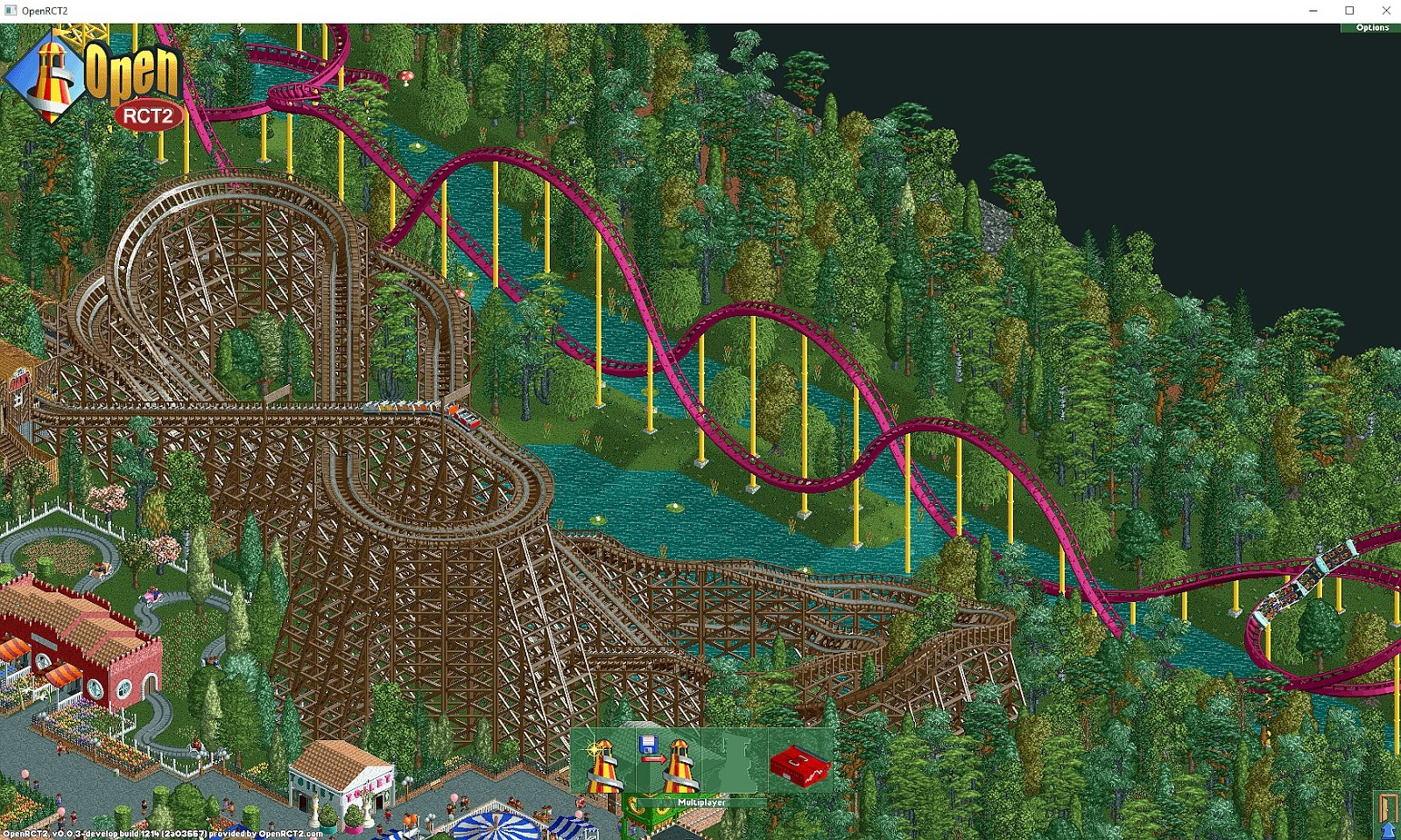 OpenRCT2 project - Open-Source adaption of RollerCoaster Tycoon 2, gets a beta release
