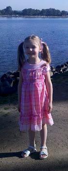 My granddaughter Kara, age 5