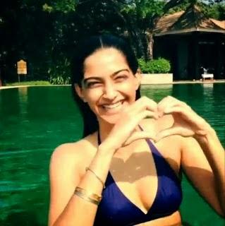 Sonam Kapoor's Bikini Unseen Image Free Download