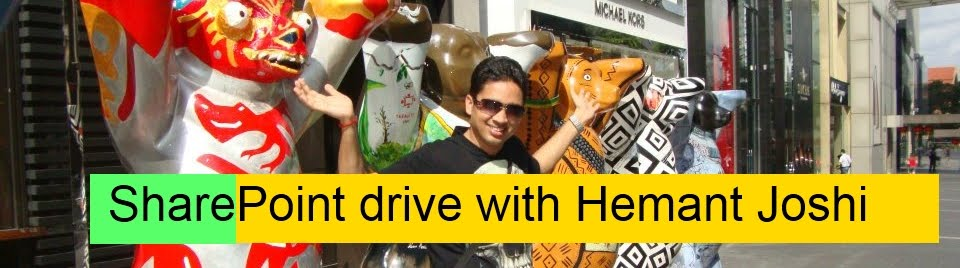 Sharepoint Drive with Hemant Joshi