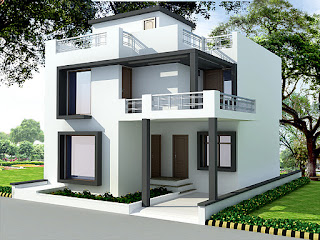 , House Plans, House Design, Front Elevation, Costomized House Plan