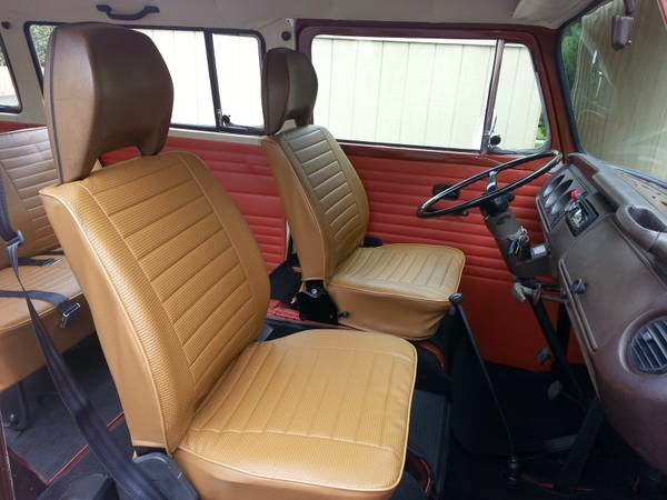 Restored  Vw Bus Champagne Edition