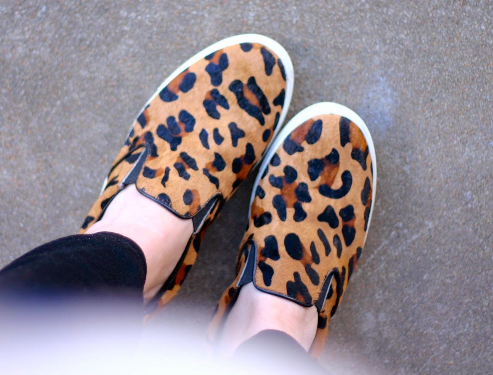 Leopard Skeakers