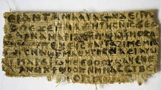 O Vaticano alega que o papiro é uma falsificação...