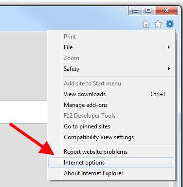 Internet Explorer - Configurações
