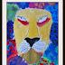 Leroy Neiman Inspired Lions