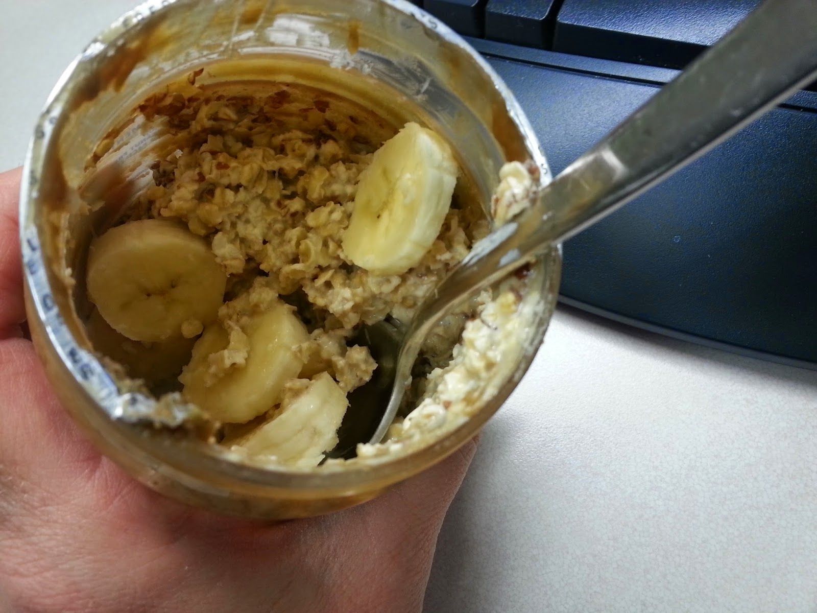 overnight oats sunbutter flaxseed
