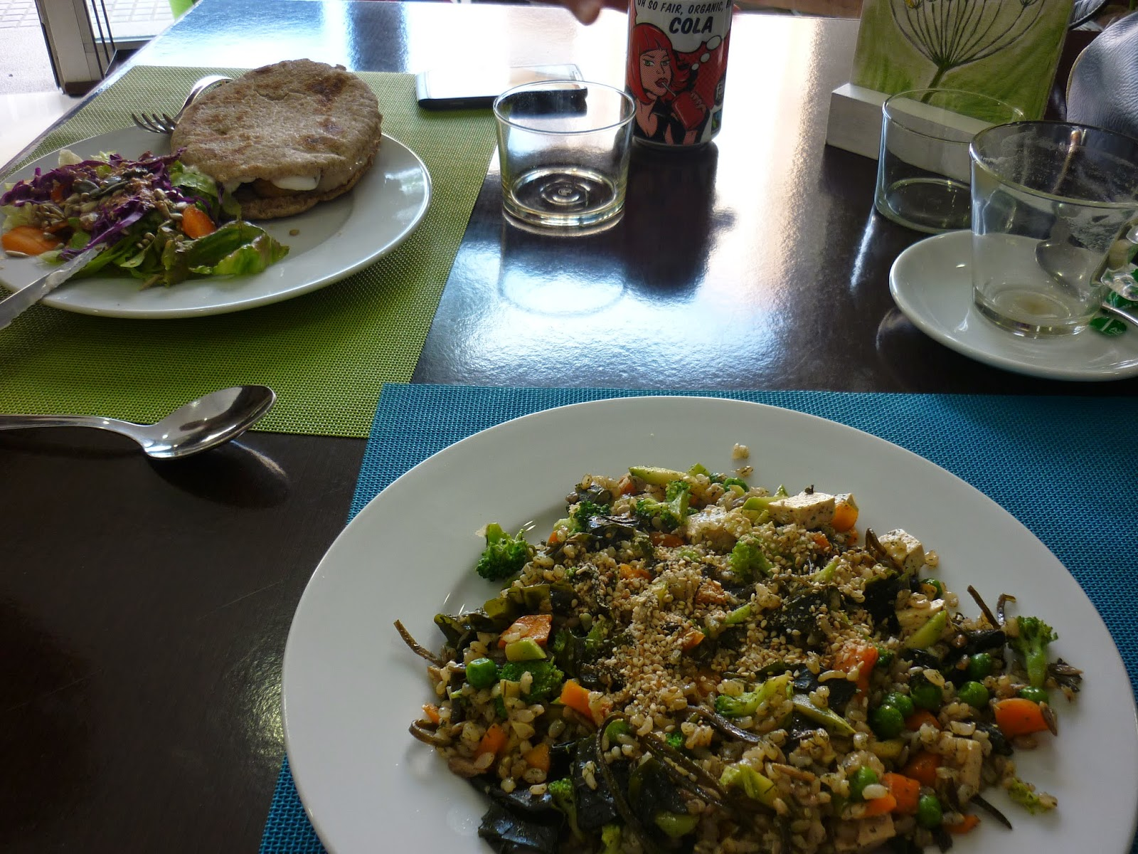 Essen im Plaer Vegetaria in Manacor Mallorca