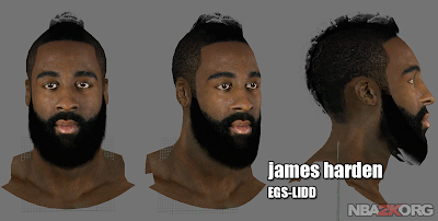 James Harden 3D Preview