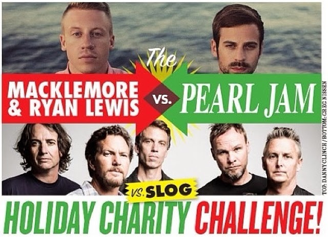 Pearl Jam and Macklemore Compete to Save Homeless Teens