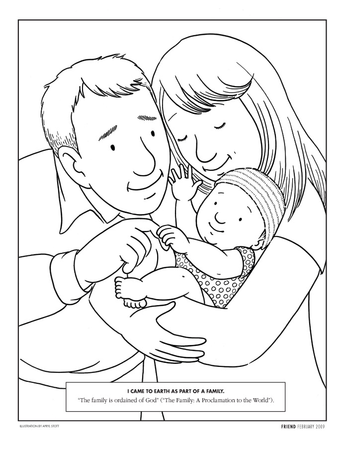 Honor Your Parents Coloring Page Coloring Pages Parents Coloring Pages
