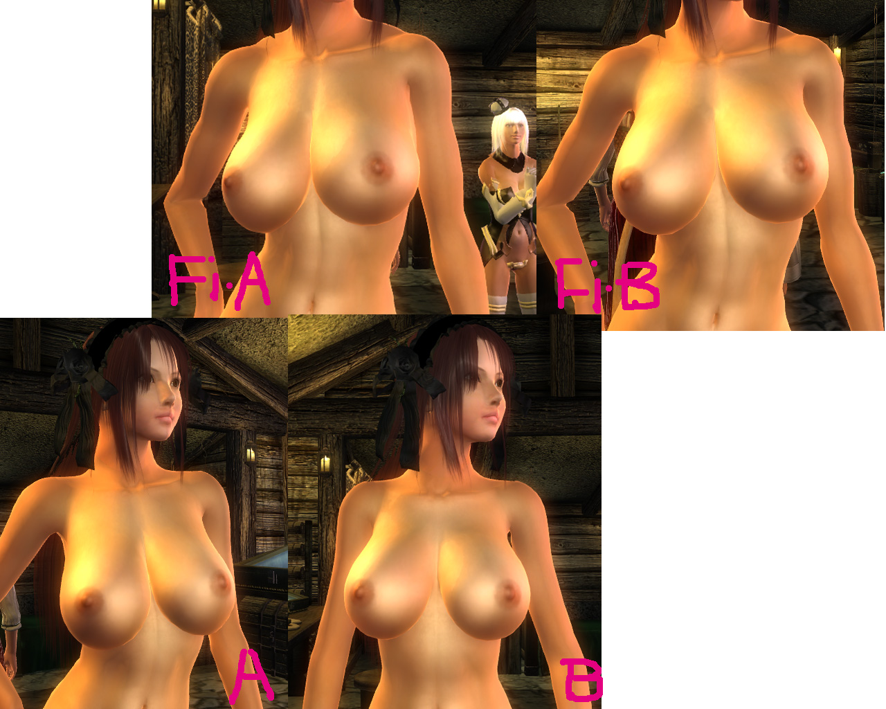 Male nude mods for oblivion pc game erotic photo