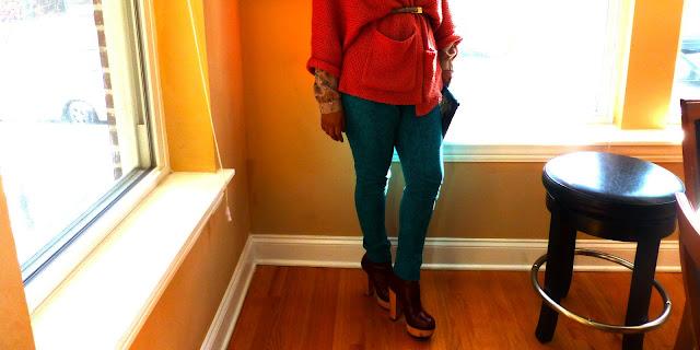 DIY skinny jeans