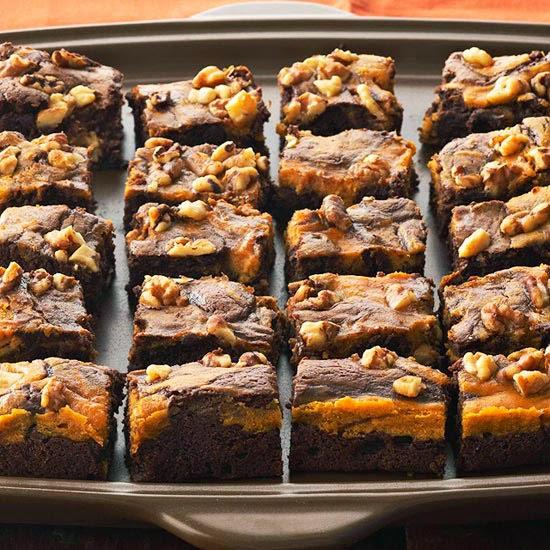 http://www.bhg.com/recipe/brownies/marbled-chocolate-pumpkin-brownies/