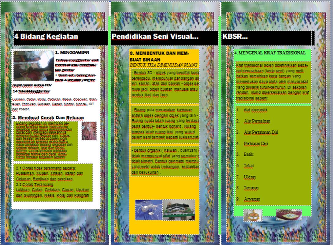 ... Seni Visual Sekolah Rendah dan Sekolah Menengah (Klik Disini