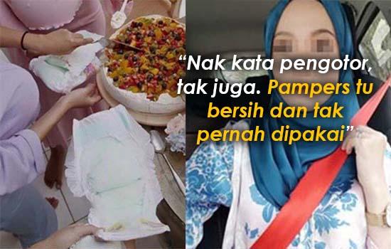Penjelasan Terbaik Untuk Wanita Makan Pakai Pampers Ganti Pinggan