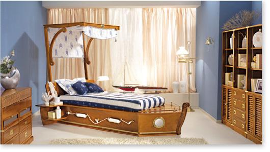 Dormitorios marineros para ni os dormitorios con estilo - Baules para dormitorios ...