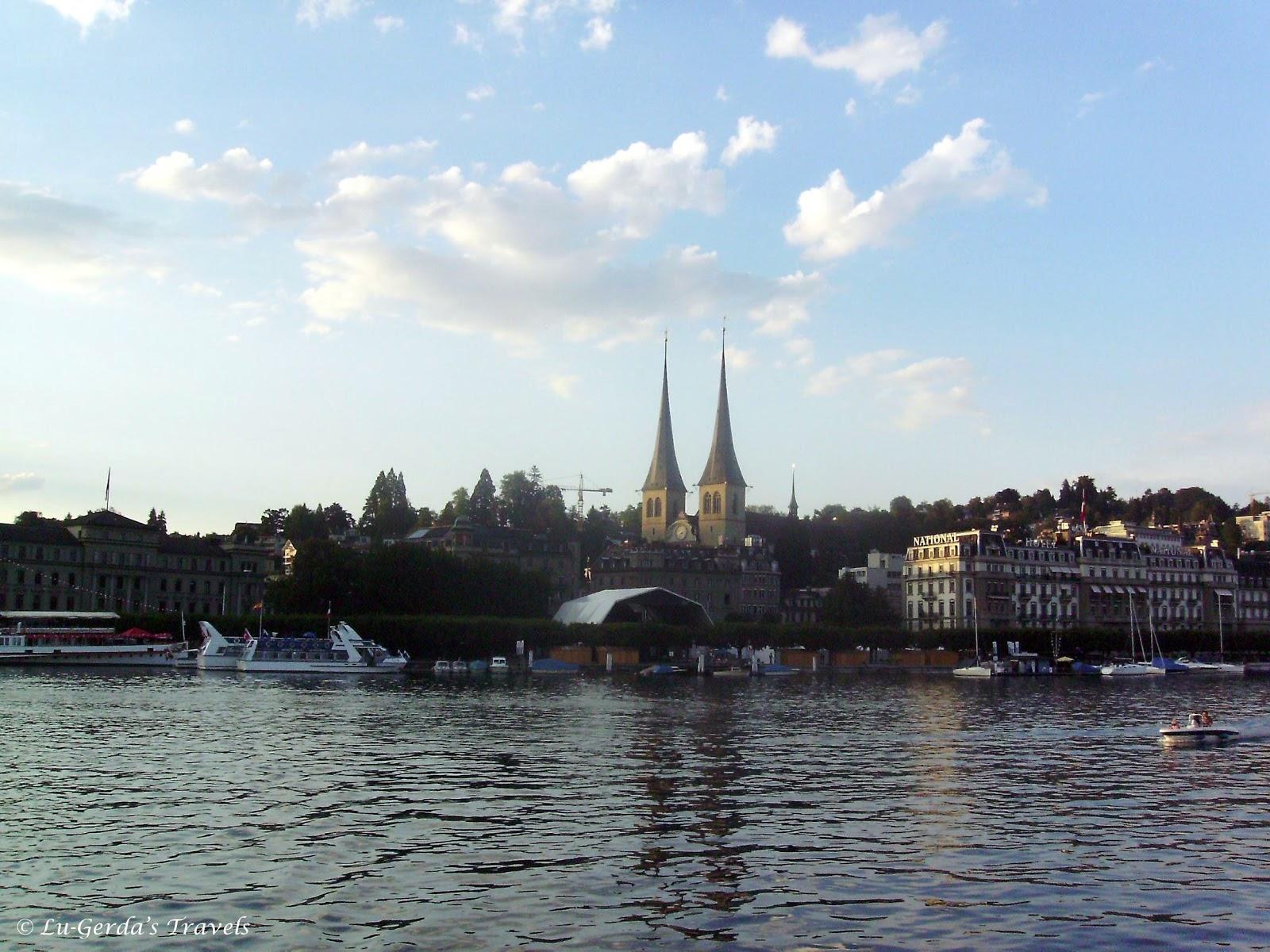 Lu Gerda S Travels Day 9 Luzerne Switzerland 22 June 2008