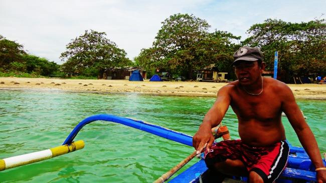 burot beach calatagan batangas, bangkero