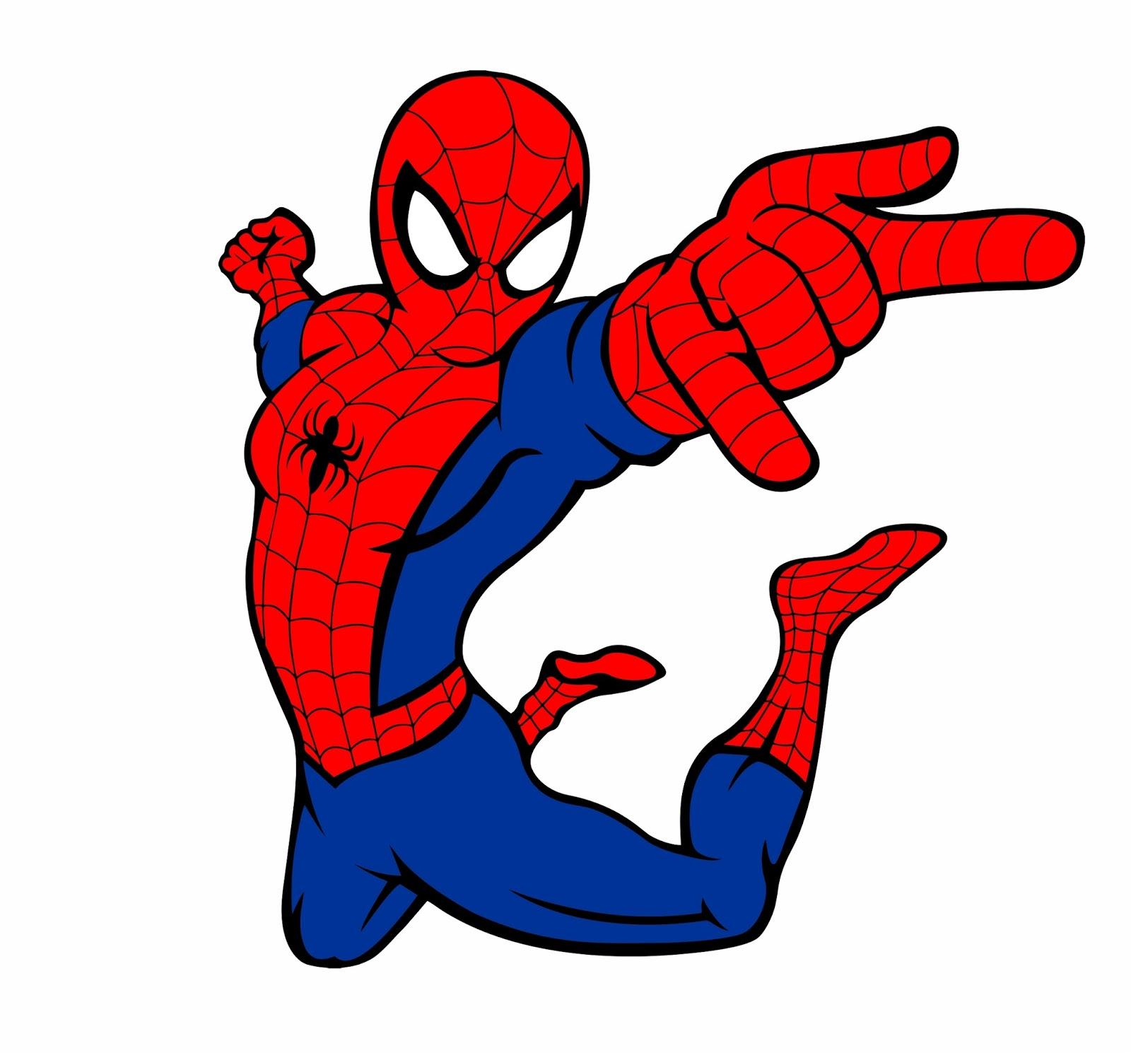 Andrea Cabrera: Vector hombre araña
