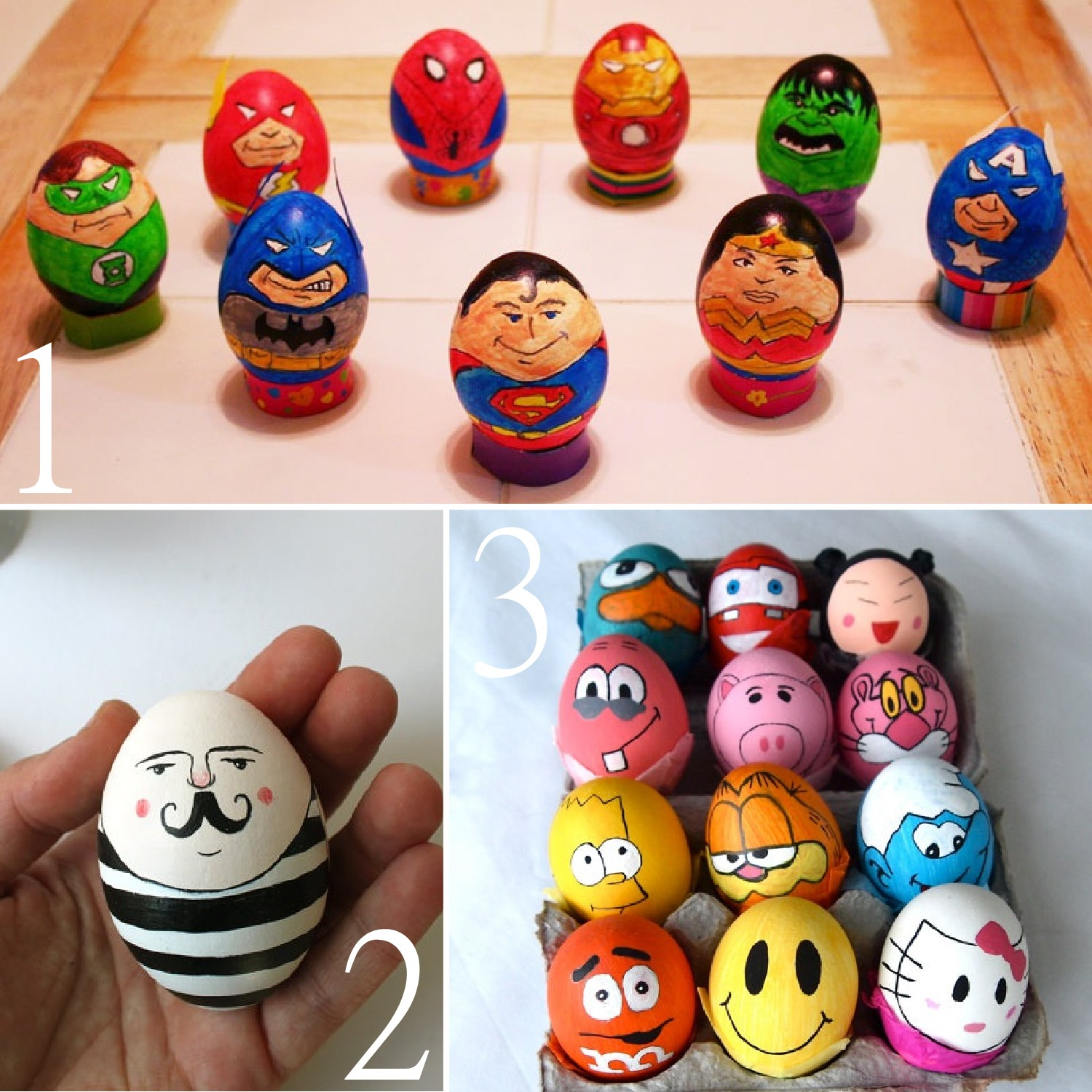 17 unusual easter egg character ideas the scrap shoppe for Easter egg ideas