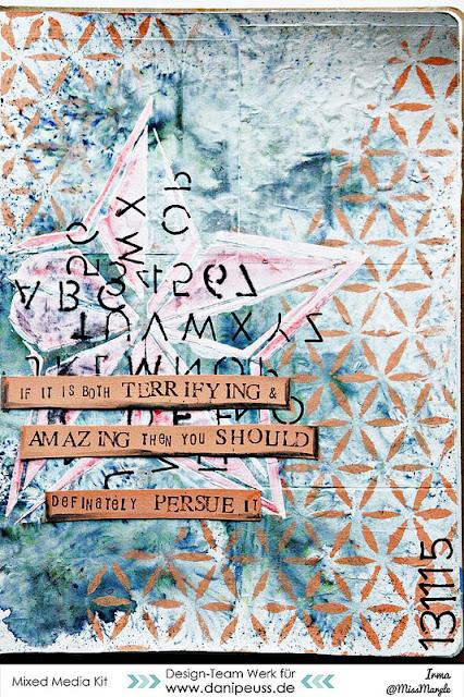http://danipeuss.blogspot.com/2015/12/art-journal-seite-persue-it.html