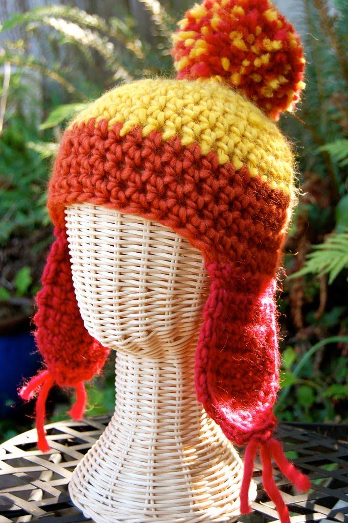 Redheart Knitting Patterns : crochet hat pattern-Knitting Gallery