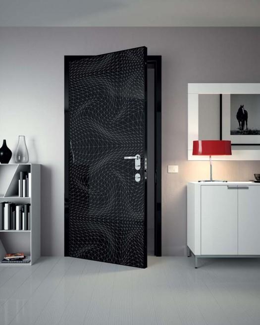Hogares frescos puertas decorativas y coloridas dise adas - Puertas de interior de diseno ...