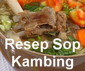 Resep Membuat Sop Daging Kambing dengan Bumbu Spesial Enak