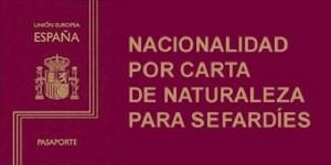 Información sobre nacionalidade sefardies