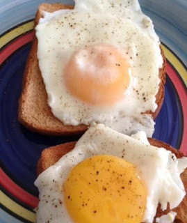 Eggs on Toast by Rachel Frenkel