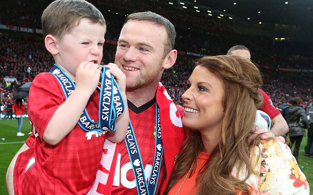 "Wayne Rooney And Wife Welcome New Baby Boy ""Kit Joseph Rooney"""