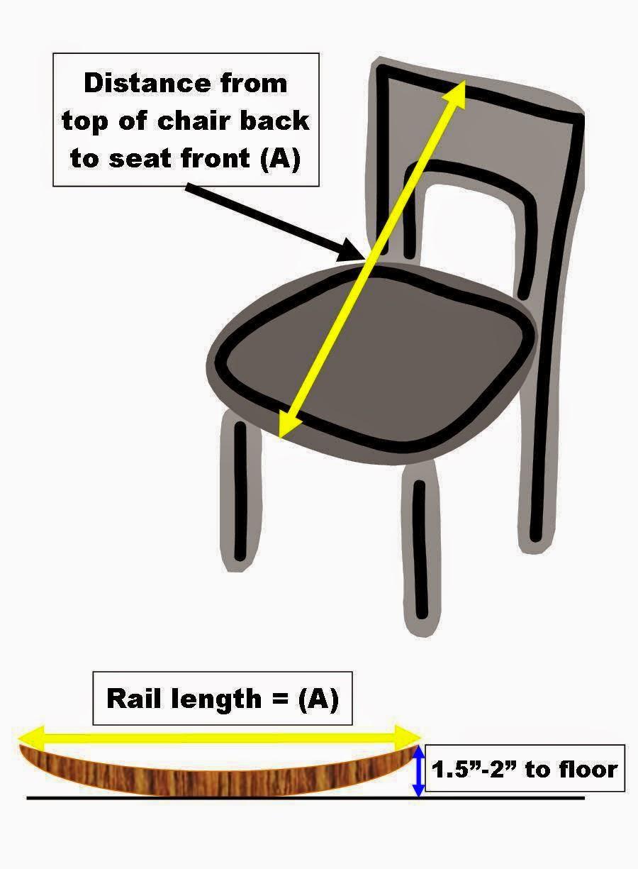 Wooden Rocking Chair Diy Kit PDF Plans