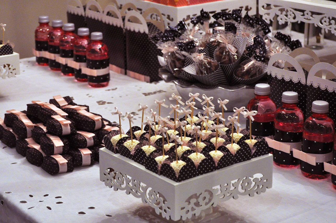 decoracao cozinha tradicional:Pink Cake: Mesa de doces de poás: inspirado no tema Paris