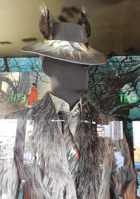 Wolf Into the Woods Fedora hat