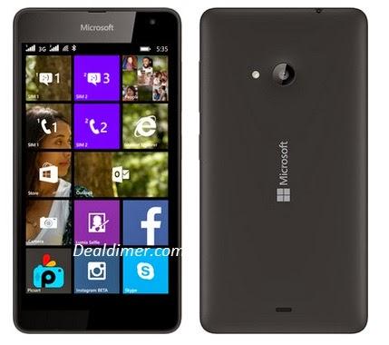 Microsoft Lumia 535 Dual Sim Mobile