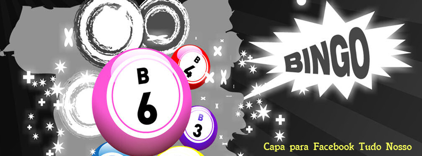 Capa para Facebook - Bola de Bingo - Tudo Nosso