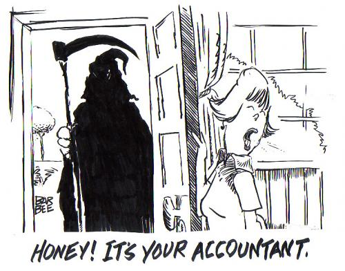 Accountant Cartoons2