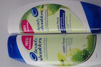 Shampoo und Spülung mit Apfelduft