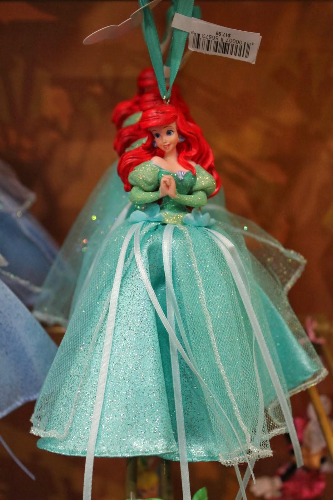Ariel Disney Christmas Ornament